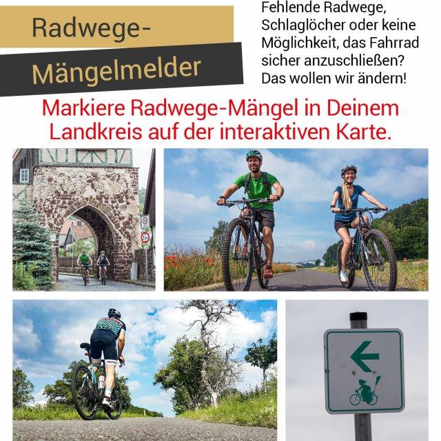 Radwege-Mängelmelder geschlossen